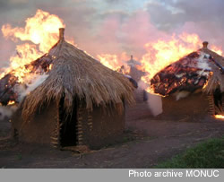 Des cases de Miriki a feu! photo de 2009