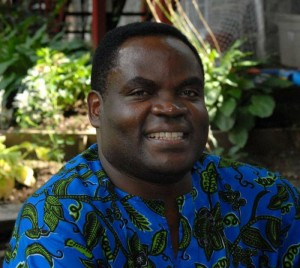 Assumptionist Father Vincent Machozi, a Boston University alumnus pictured in an undated photo, was gunned down in Congo March 20. (CNS photo/courtesy the Assumptionists) See CONGO-ASSUMPTIONIST-MURDER March 25, 2016.