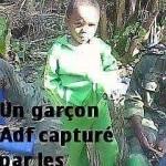 un garçon que les FARDC ont présenté comme ADF capturé en début de l'année 2016