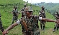 Soldats CNDP vêtus en uniformes des FARDC
