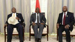 Kabila - Museveni - Dos Santos