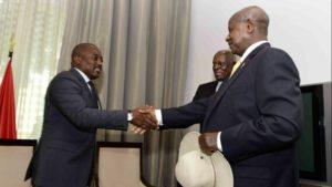 Kabila et Museveni