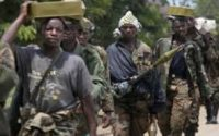 Une groupe de milice au Nord-Kivu