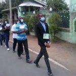 militants Lucha dans une manifestation pacifique photo Joseph KAPANGA