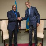 Le président Joseph Kabila et son homologue rwandais, Paul Kagame, à l'occasion d'un sommet.