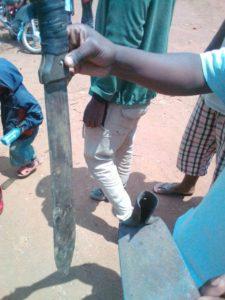 machette Hutu Bbo