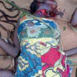 Un maman égorgée par les tueurs de Beni dans une attaque à Mayangose photo BLO par Georges Niko