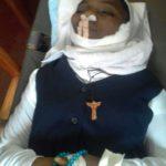 Soeur Claire assassinée à Bukavu  le 29/11/2016  photo BLO par Abbé Jean de la Croix
