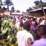 Population en colère à Beni après décapitation de Kambale à Mayangose de 14/12/2016 photo BLO par Georges Noko
