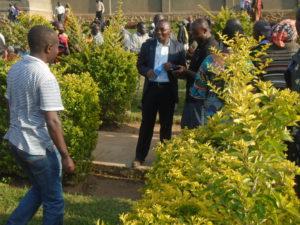 Enterrement accompagné de la communauté des Missionnaires Assomptionnistes