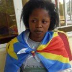 Mlle Rebecca KAVUO, combattante pour la liberté en RDC photo BLO par Georges NOKO