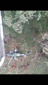 L'hélicoptère des FARDC écrasé samedi 21/01/2017
