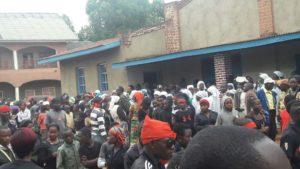 Foule mobilisée à Butembo pour le premier anniversaire de la mort du P. Vincent