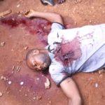Un sujet Nande tué à Mongbwalu en Ituri le 26.03.2017