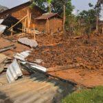Maisons incendiées à Bwito ce 04/04/2017