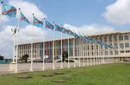 Le palais du Peuple, Lingwala/Kinshasa
