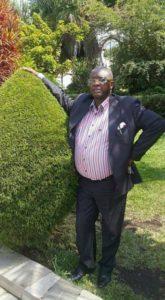 Mr James Nzumuka, Bourgmestre de la commune de Goma, mort le 25/05/2017