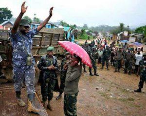 Tabo Taberi Cheka, le commandant Mai-mai du groupe NDC, à sa reddition